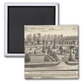 Farms and residences of WR Blodgett & GC Daubner Magnets