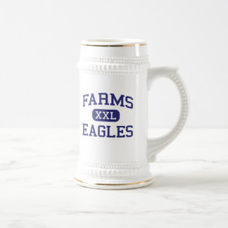 Farms Eagles Middle School Brighton Michigan 18 Oz Beer Stein