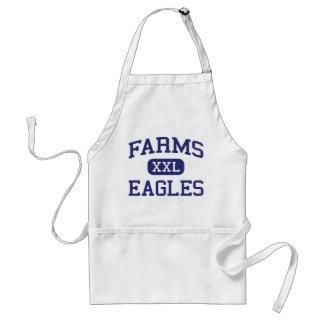Farms Eagles Middle School Brighton Michigan Adult Apron