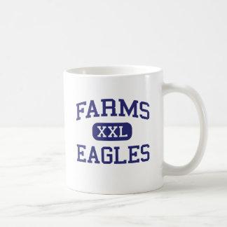 Farms Eagles Middle School Brighton Michigan Classic White Coffee Mug