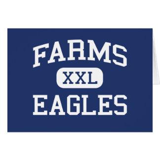 Farms Eagles Middle School Brighton Michigan Greeting Card