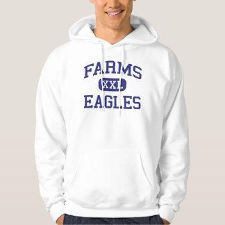 Farms Eagles Middle School Brighton Michigan Hooded Sweatshirt