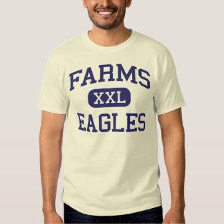 Farms Eagles Middle School Brighton Michigan T Shirts
