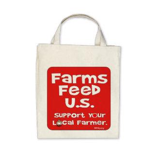 Farms Feed U.S. Tote Bag
