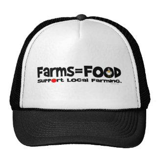 Farms=Food Trucker Hat