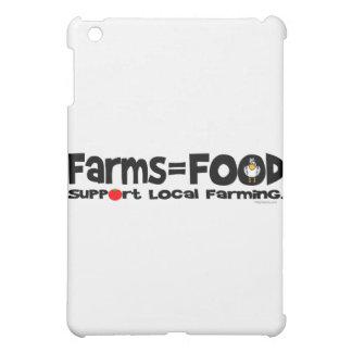 Farms = Food iPad Mini Cases