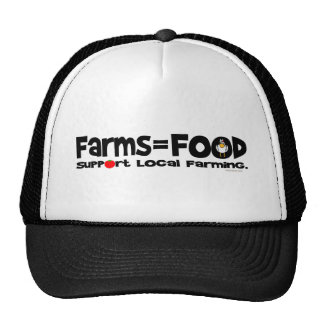 Farms=Food Trucker Hat