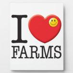 Farms Love Photo Plaque