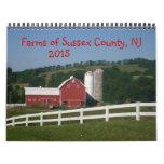 Farms of Sussex County NJ Calendar 2015