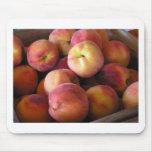 Farmstand Peaches Mousepad
