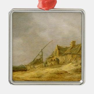Farmstead, 1632 metal ornament