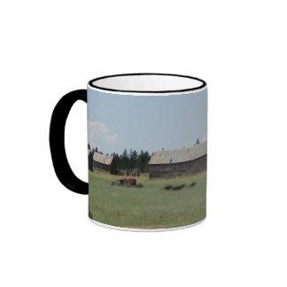 Farmstead, Friend, Oregon Ringer Mug