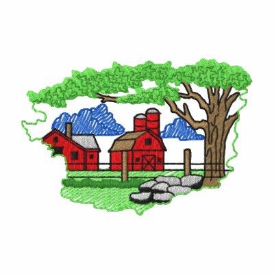 Farmstead Scene