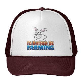 Farmville-I'd rather be farming cap Mesh Hats
