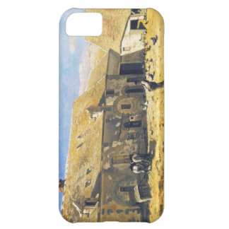 Farmyard at Chailly - Claude Monet iPhone 5C Case