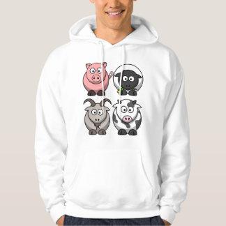 Farmyard / Barnyard Animals Hoodie