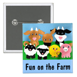 Farmyard Gang Button