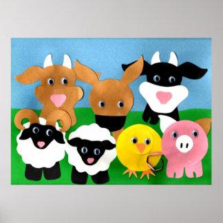 Farmyard Gang Poster