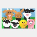 Farmyard Gang Sticker