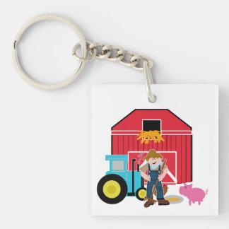 Farmyard Acrylic Key Chains