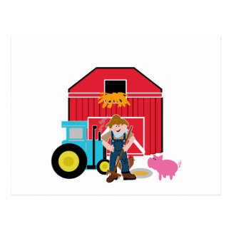 Farmyard Post Cards