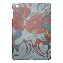 Farmyard Roosters Case For The iPad Mini