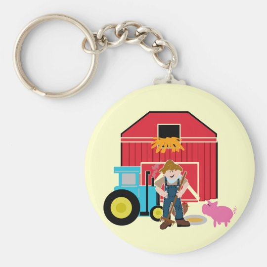 Farmyard Tshirts and Gifts Keychain