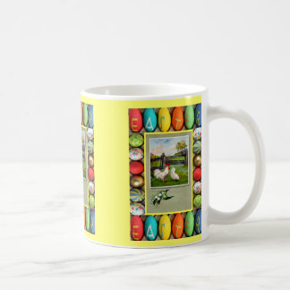 Farmyard with lucky heather coffee mug