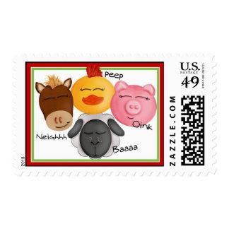 Farn Animal Postage  Stamps