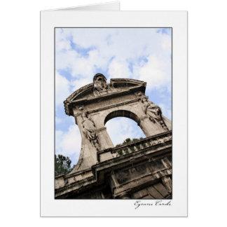 Farnese Gardens Entrance Greeting Card