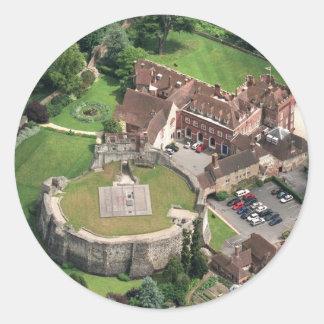 Farnham Castle Classic Round Sticker