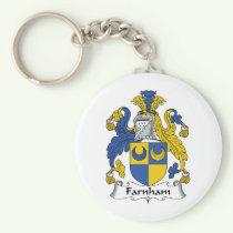 Farnham Family Crest Keychain