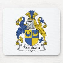 Farnham Family Crest Mousepad