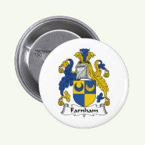 Farnham Family Crest Button