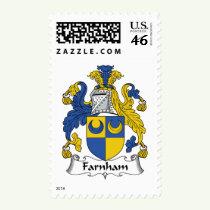 Farnham Family Crest Stamps