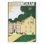 Farningham Vintage Travel Poster