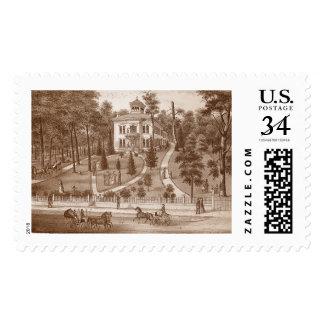 Farnsworth Residence St. Charles Illinois 1871 Postage