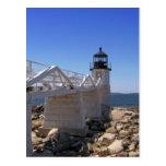 Faro 14 de Maine Tarjetas Postales
