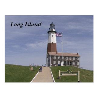 Faro 2 de Long Island Tarjetas Postales