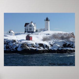 Faro 4 de Maine Póster