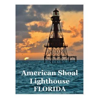 Faro americano del bajío, postal de la Florida