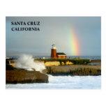 Faro/Arco iris-Postal de Santa Cruz