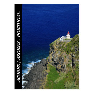 Faro azoreno postales