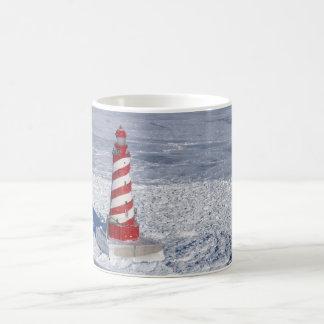 Faro blanco del bajío taza básica blanca