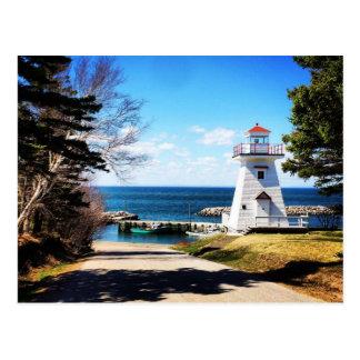Faro Bridgetown Nueva Escocia Canadá de Hampton Tarjeta Postal