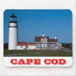Faro Cape Cod Massachusetts Mousepa de la montaña Tapetes De Raton