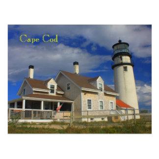 Faro Cape Cod Truro mA de la montaña Postales