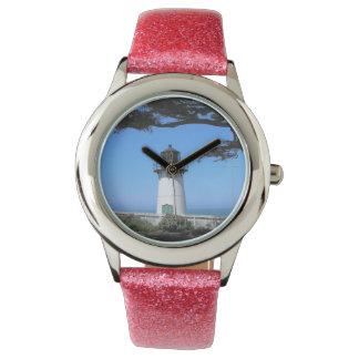 Faro costero relojes de pulsera