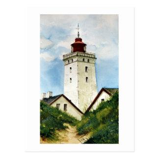 Faro danés postal