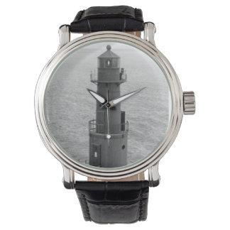 Faro de Algoma Pierhead Reloj De Mano